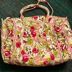 Retired pattern Vera Bradley, large duffel bag.